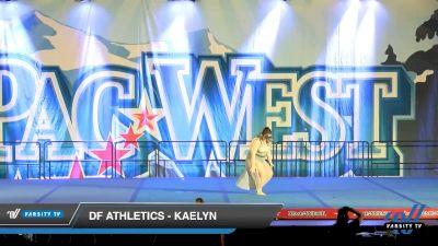DF Athletics - Kaelyn [2020 Senior Solo - Contemporary/Lyrical Day 1] 2020 PacWest
