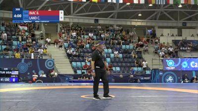 55 kg 1/8 Final - Berati Inac, Turkey vs Cory Daniel Land, United States