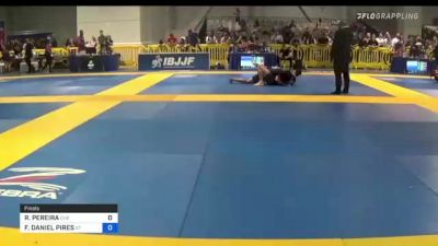 RICARDO PEREIRA vs FRANCISCO DANIEL PIRES 2021 American National IBJJF Jiu-Jitsu Championship