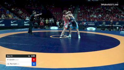 72 kg Quarters - Patrick Smith, Minnesota Storm vs Griffin Parriott, Minnesota