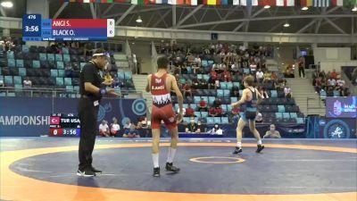 48 kg 1/2 Final - Servet AngI, Turkey vs Otto Elliot Black, United States