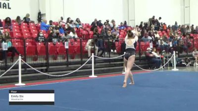 Emily Six - Floor, Waxahachie - 2021 Region 3 Women's Championships