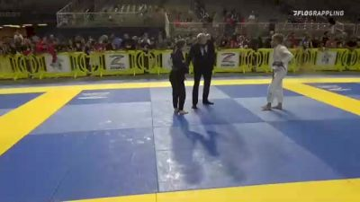 KAILIN PATRICIA SEBERT vs CLARISSA DE LEMOS HAYDON 2021 Pan Kids Jiu-Jitsu IBJJF Championship
