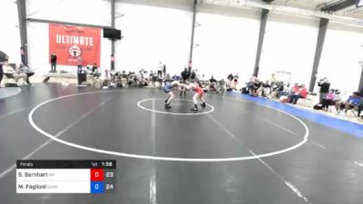 60 kg Final - Spencer Barnhart, Malvern Prep vs Mitchell Faglioni, Gitomer