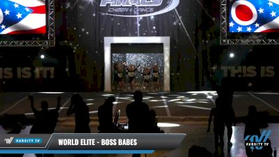 World Elite - Boss Babes [2021 L1 Tiny Day 1] 2021 The U.S. Finals: Louisville