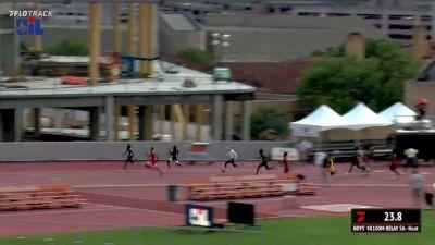 High School Boys' 4x100m Relay 5A, Finals 1