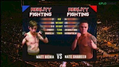 Matt Bienia vs Nate Ghareeb Reality Fighting Replay