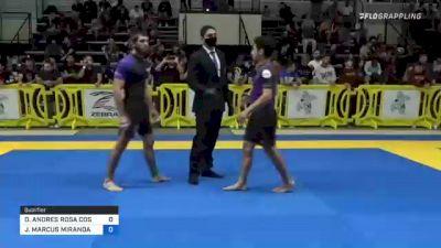 OSCAR ANDRES ROSA COSTA vs JOEY MARCUS MIRANDA 2021 Pan IBJJF Jiu-Jitsu No-Gi Championship