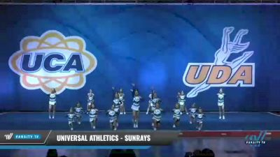Universal Athletics - SunRays [2020 L2 Junior - Small - D2 Day 2] 2020 UCA Smoky Mountain Championship