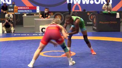 57kg Quarter-Final - Helen Maroulis, USA vs Odunayo Adekuoroye, NGR