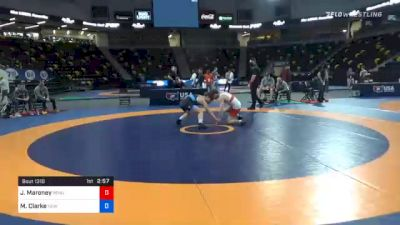 61 kg 7th Place - Jaxon Maroney, Pennsylvania RTC vs Mason Clarke, New York City RTC