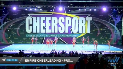 Empire Cheerleading - Prodigy Black [2020 Youth Small 2 D2 Division B Day 1] 2020 CHEERSPORT National Cheerleading Championship