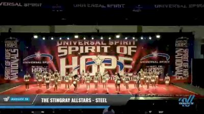 The Stingray Allstars - Marietta - Steel [2021 L6 Senior Large Coed] 2021 The MAJORS