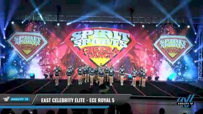 East Celebrity Elite - ECE Royal 5 [2021 L5 Senior Day 2] 2021 Spirit Sports: Battle at the Beach
