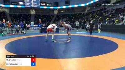 79 kg Consolation - Michael O'Malley, Pennsylvania RTC vs David McFadden, TMWC/ PENN RTC