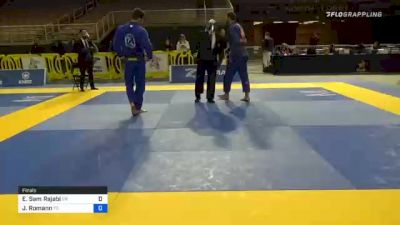 Ehsan Sam Rajabi vs John-Dylan Romann 2020 World Master IBJJF Jiu-Jitsu Championship