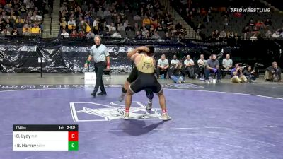 174 lbs Semifinal - Dylan Lydy, Purdue vs Ben Harvey, Army West Point