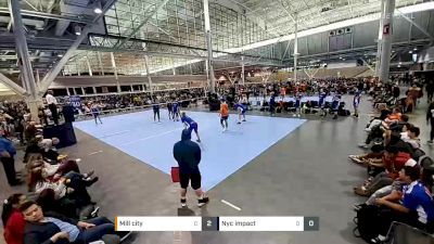 Mill city vs Nyc impact - 2020 Mizuno Boston Volleyball Festival