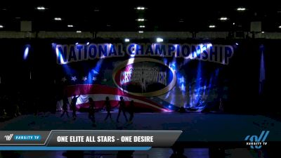 One Elite All Stars - One Desire [2021 L3 Senior Coed - D2 Day 1] 2021 ACP: Tournament of Champions