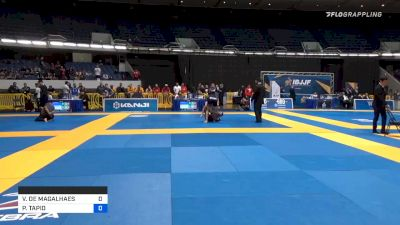 VINICIUS DE MAGALHAES vs PERTTU TAPIO 2019 World IBJJF Jiu-Jitsu No-Gi Championship
