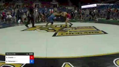 126 lbs Round Of 128 - Derek Steele, Minnesota vs Dean Peterson, New Jersey