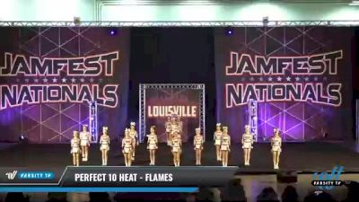 Perfect 10 Heat - Flames [2021 L2 Youth - D2 - Small Day 2] 2021 JAMfest: Louisville Championship