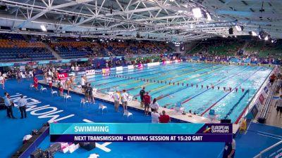 2018 European Swimming Championship Finals, Day 5