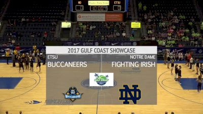 Notre Dame vs ETSU   11.24.17   Gulf Coast Showcase (W)