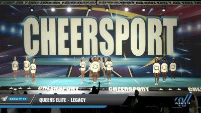 Queens Elite - Legacy [2021 L2 Senior - D2 Day 1] 2021 CHEERSPORT: Charlotte Grand Championship