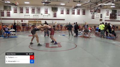 145 lbs Consolation - Eric Falleni, Lenape Valley vs Caleb Alvarado, Shore Thing Wrestling Club