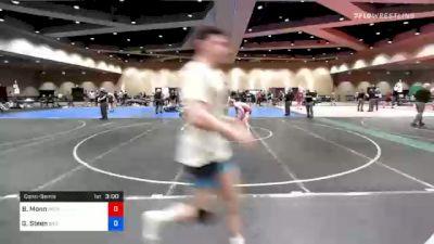 57 kg Consolation - Benjamin Monn, Patriot Elite Wrestling Club vs Gary Steen, Bad Karma