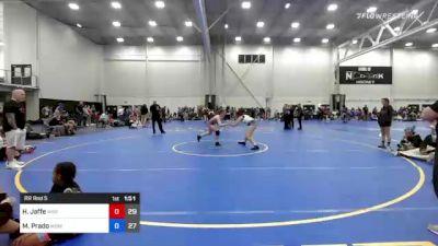 127 lbs Rr Rnd 5 - Haylie Jaffe, Misfits Sweet Lightning vs May Prado, WOW South