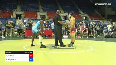 145 lbs Cons 4 - Gabe Miller, Pennsylvania vs Manzona Bryant, Ohio