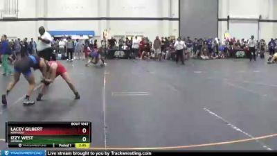 110 lbs Round 5 - Izzy West, Georgia vs Lacey Gilbert, Kentucky