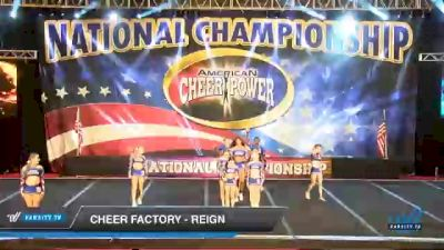Cheer Factory - Reign [2021 L3 Senior Coed - D2 Day 2] 2021 ACP Southern National Championship