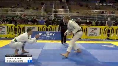 J. BREYLOR GROUT vs CHRISTOPHER DEVIN PASSERRELLO 2020 Pan Jiu-Jitsu IBJJF Championship
