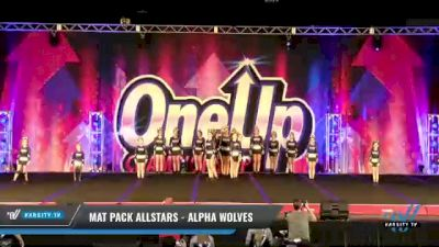Mat Pack Allstars - Alpha Wolves [2021 L3 Junior - D2 - Medium Day 2] 2021 One Up National Championship