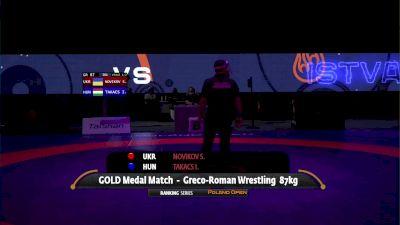 87kg Gold - Semen Novikov, UKR vs Istvan Takacs, HUN