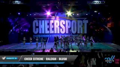Cheer Extreme - Raleigh - Blush [2021 L5 Senior - Large Day 2] 2021 CHEERSPORT National Cheerleading Championship