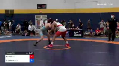 86 kg Round Of 16 - Mark Hall, Titan Mercury Wrestling Club (TMWC) vs Dalton Swayze, Grays Harbor