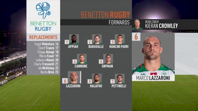 Benetton Rugby vs Connacht Rugby