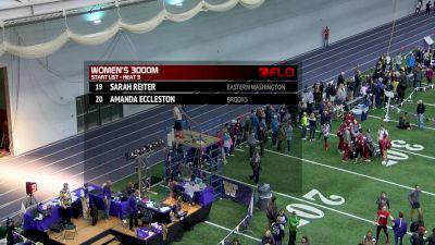 Women's 3k, Heat 3 - Kim Conley wins in 9:01