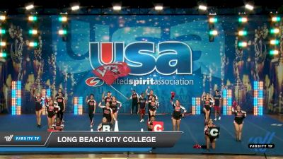 Long Beach City College [2020 Large Co-Ed Show Cheer 2-Year College Day 2] 2020 USA Collegiate Championships