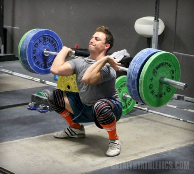 Retaining Balance In The Lift When Increasing Weight