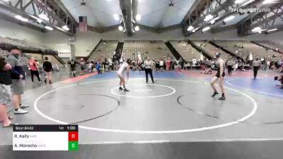 128 lbs Consolation - Ryan Kelly, MPR vs Aaron Morocho, Ascension Wrestling Academy