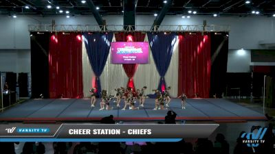 Cheer Station - Chiefs [2021 L4 Youth - D2 Day 2] 2021 The American Spectacular DI & DII