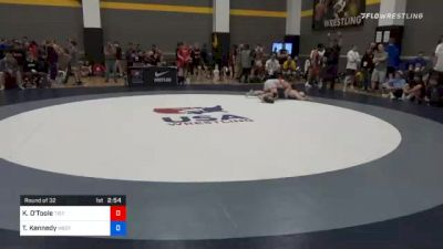 74 kg Prelims - Keegan O'Toole, Tiger Style Wrestling Club vs Tannen Kennedy, Western Colorado Wrestling Club