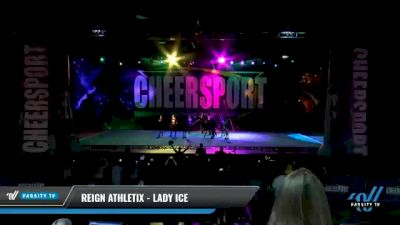 Reign Athletix - LADY ICE [2021 L2 Junior - D2 - Small - A Day 1] 2021 CHEERSPORT National Cheerleading Championship