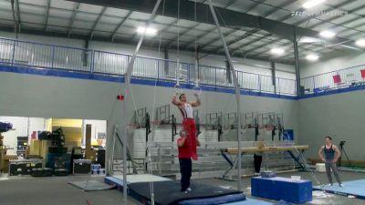 Sam Mikulak - Still Rings, U.S.O.P.T.C. Gymnastics - 2021 April Men's Senior National Team Camp