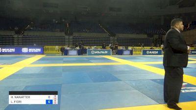 HEATHER WOODS vs LUDMILA FIORI DE ARAUJO 2019 Pan Jiu-Jitsu IBJJF Championship